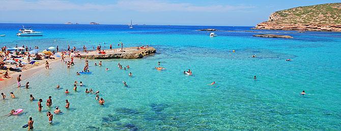Platges de Comte, en Ibiza (Foto: Xescu Prats)