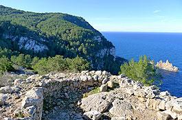 Ses Torres d'en Lluc, en Sant Mateu (Foto: Xescu Prats)